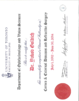 fellowship certificate